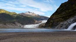 Mendenhall Glacier closer , Robert C - September 2014