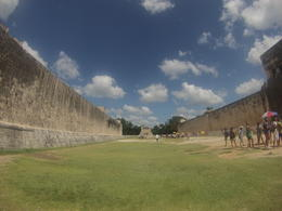 During part of our tour of the Chichen Itza Ruins. 10/11/2014 , Chelsea S - October 2014