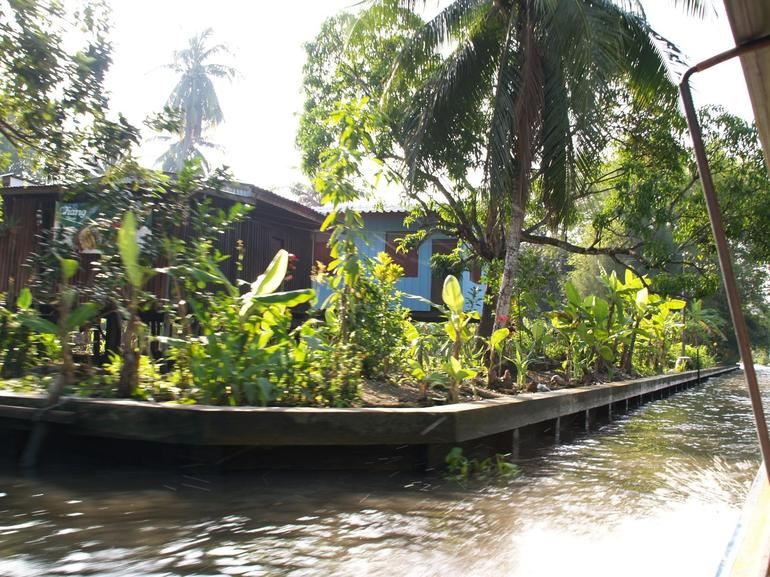 Rural life along the canal - Bangkok