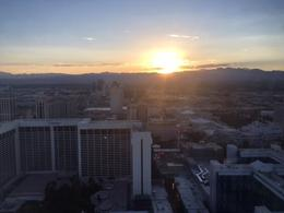 Sunset from High Roller, dangia - September 2016
