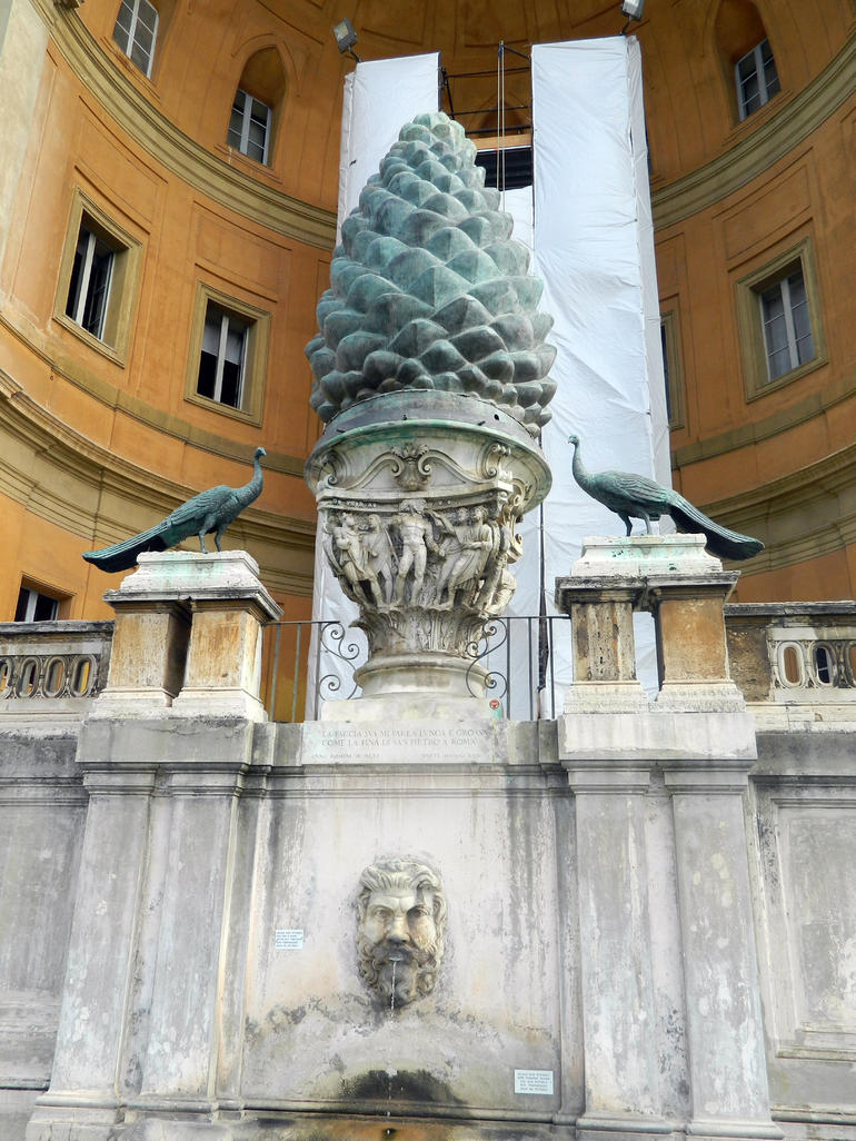 The Pinecone Fountain - Rome
