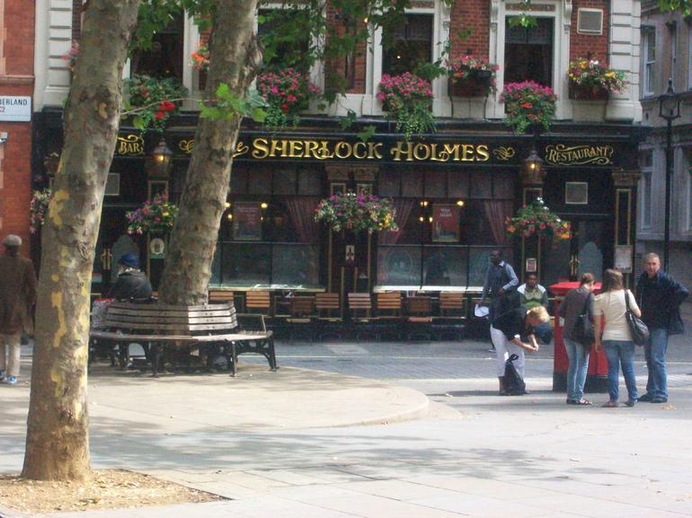 The Sherlock Holmes Pub - London