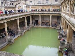 The roman baths at Bath, Helene - September 2012