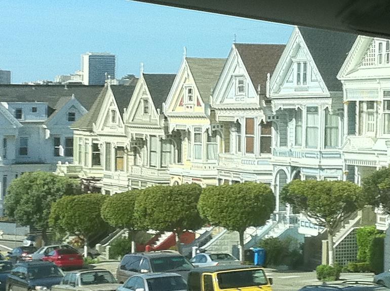 Victorian Houses - San Francisco