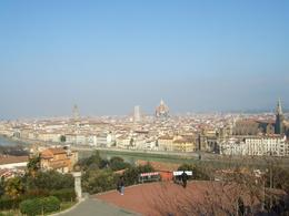 View over Florence taken during the sightseeing tour of Florence., Margot D - March 2008