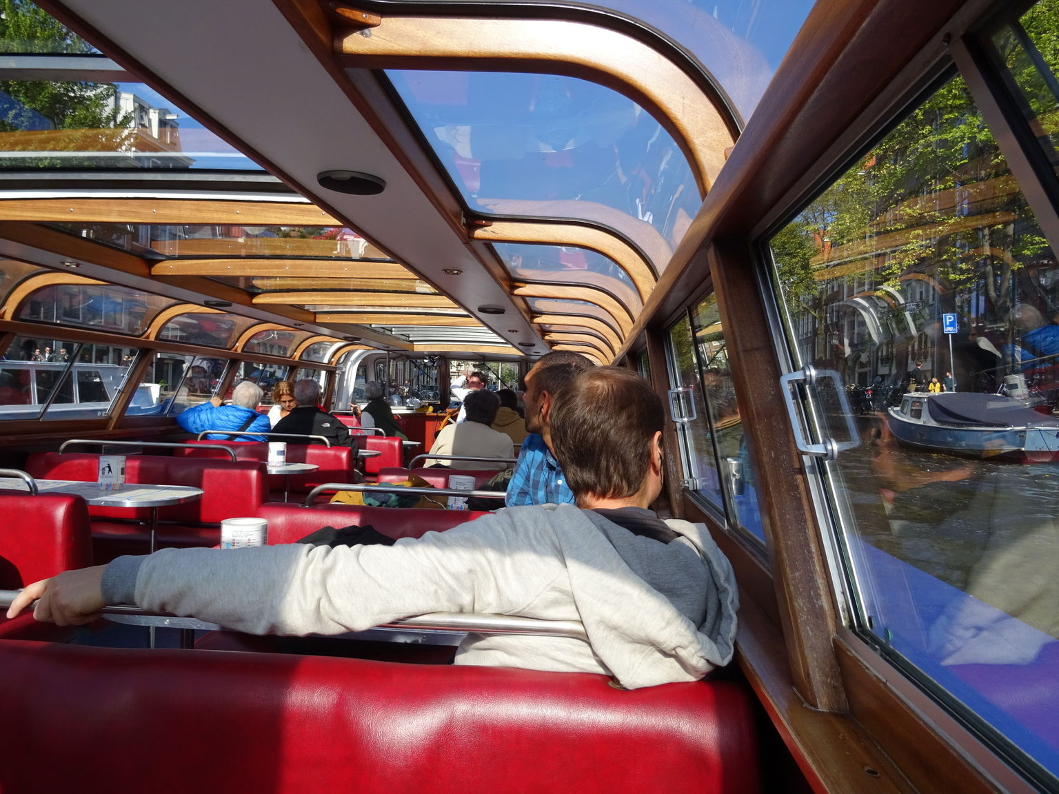 MAIS FOTOS, Blue Boat Company Amsterdam City Canal Cruise