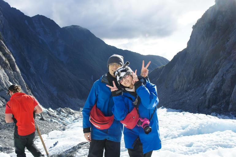 Yay! - Franz Josef & Fox Glacier