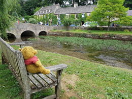 Enjoying a serene moment after lunch at Bibury. , Somphol C - July 2017