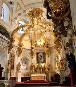 Cathedral-Basilica of Notre-Dame de Quebec -known for its gold leaf. , Sharon G - September 2017