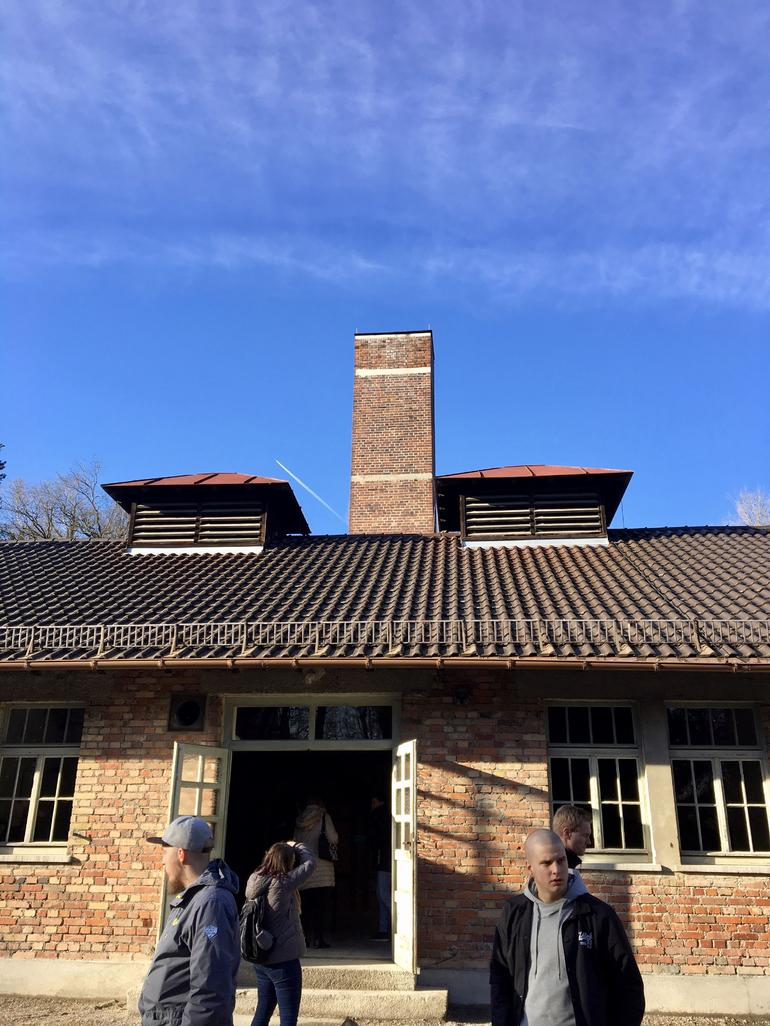 Dachau Concentration Camp Memorial Walking Tour with Guide from Munich by Train
