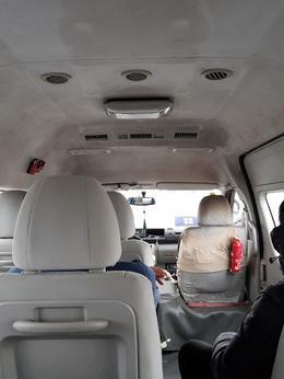 Interior of van is dirty , bernadetteyap - January 2018