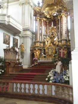 Another picture inside St. Peter's Church , Thomas E - June 2011