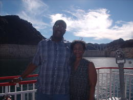 Derek and Tanya enjoying a day on Lake Meade. , Tanya B - October 2014