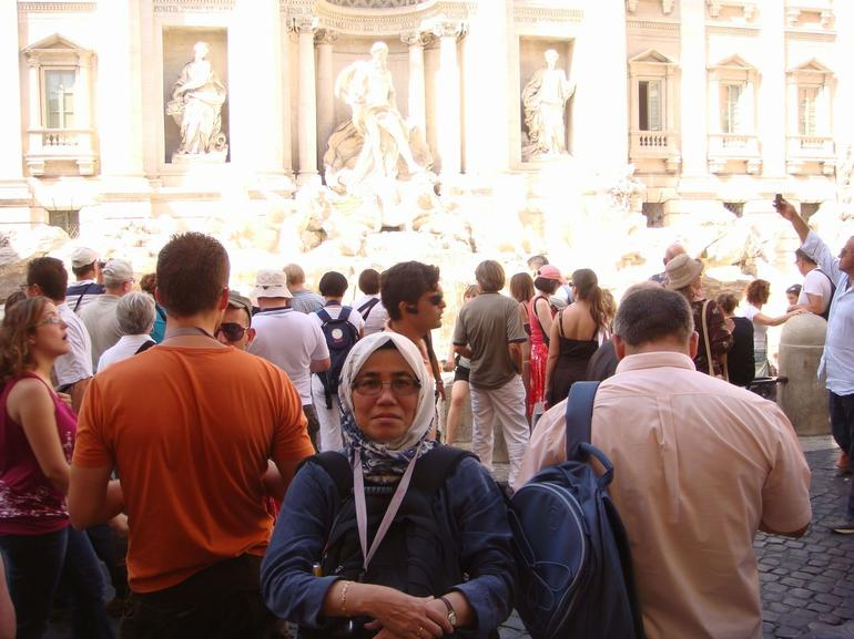 At the Trevi Fountain - Rome