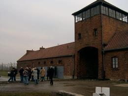 The tower where the trains came in. - January 2008