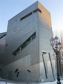 Jewish Museum in Winter by Schlaier via Wikipedia - May 2011