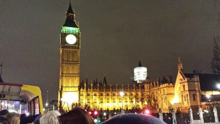Big Ben et la Grande Roue en soir�e - London