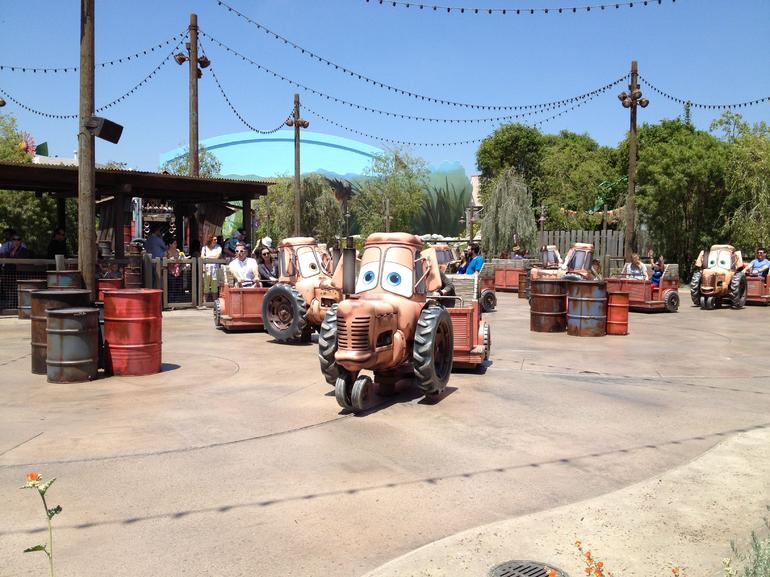 Cars Land at Disney's California Adventure - Anaheim & Buena Park