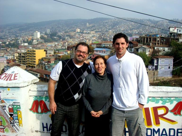 Valparaiso, Chile - Santiago
