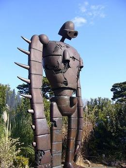 Giant robot from the Tokyo Ghibli Museum tour. - February 2009