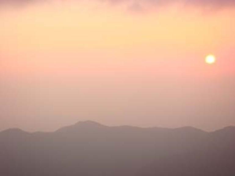 Hakone sunset - Tokyo