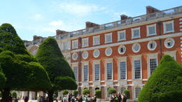 a view of the outside if the palace , vera v - July 2014