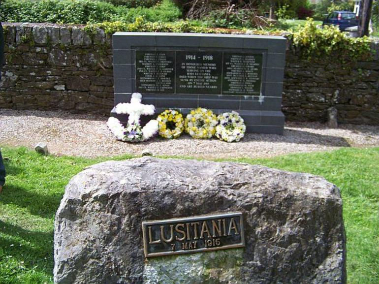 Lusitania grave - Dublin