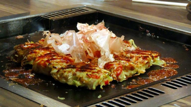 Okonomiyaki - Tokyo