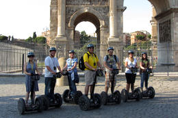 Melanie, Ryan, Tammy, George, Eric, Kristin and Rachelle had a great time on our segway tour. , Tammy M - July 2011
