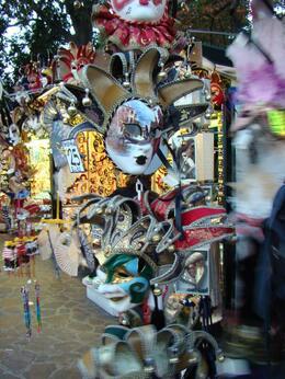 Colorful masks, Manuela N - September 2007