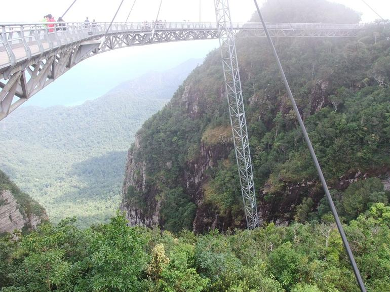 suspension bridge at cable car lankawai.JPG - Langkawi