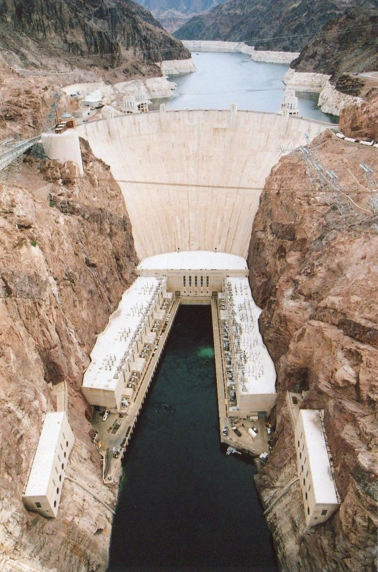 The Hoover Dam. - Las Vegas