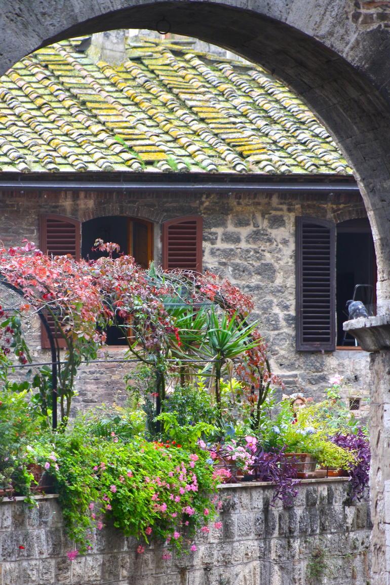 The Medieval San Gimignano, Italy -