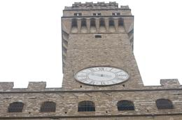 View of the tower of Palazzio Vecchio in Piazza del Signoria, Florence, gayparis - June 2010