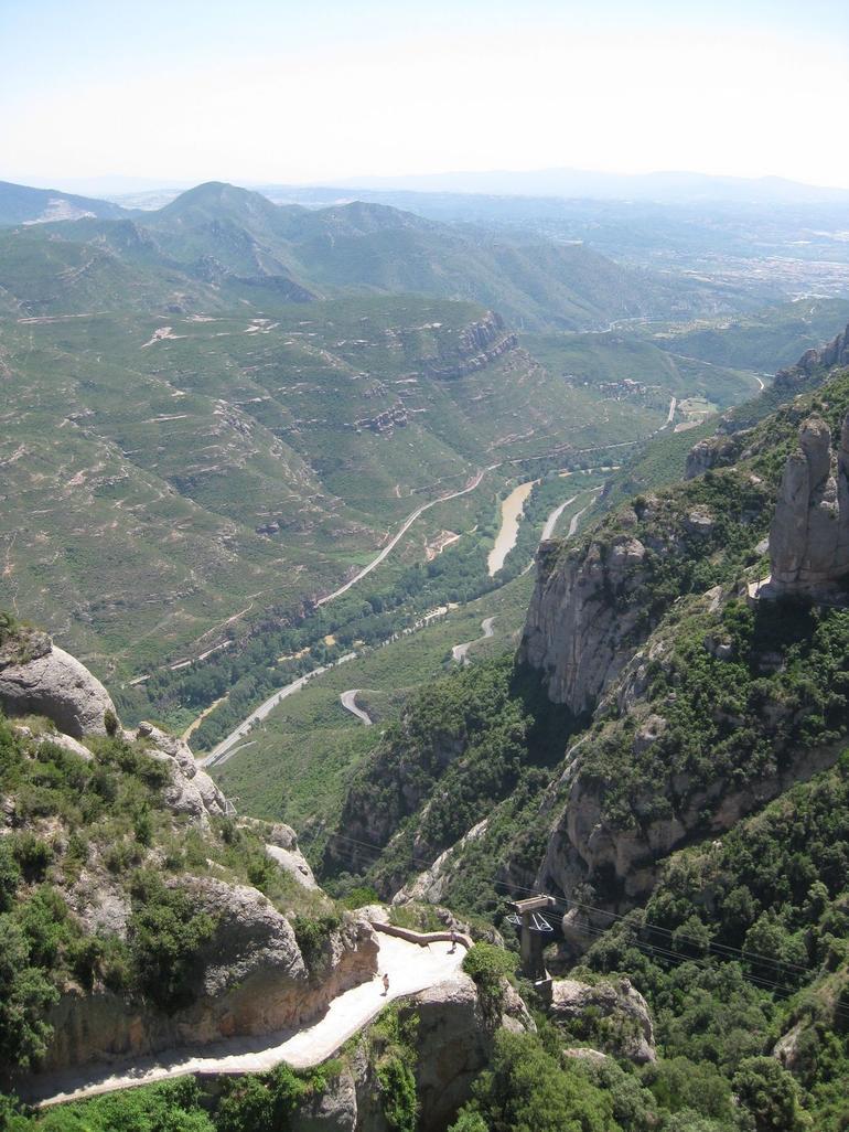 View from Montserrat - Barcelona