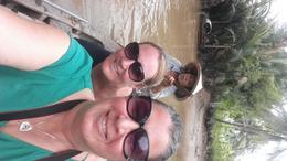 Mekong Delta selfie , Kerryn L - October 2016