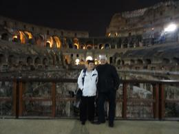 Us in The Colosseum , Marjorie H - October 2016