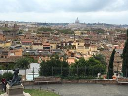 Vu of Rome fm Borghese level , RICHARD H S - November 2016