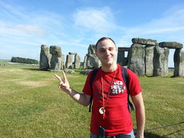 Happy to be in Stonehenge, dario.viator - September 2013