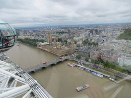 A great view of London from The Eye. , Susan B - July 2015