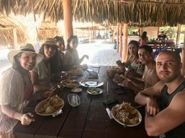 Our group having a delicious lunch, LindaGrana - December 2017