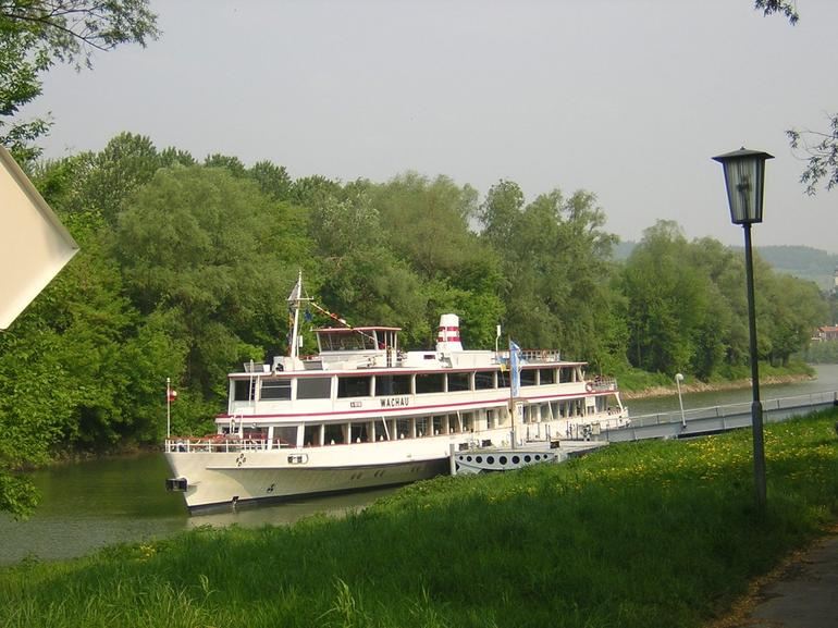 Boat Transportation down Danube River - Vienna