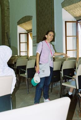 Our brilliant tour guide in Cordoba. , mohnammd a - July 2013