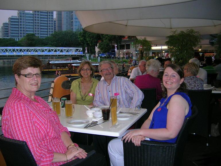 Dinner at Clarke Quay, Singapore - Singapore