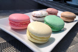 Colorful macarons, Jules & Brock - July 2012