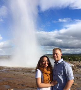 The geyser was awesome and so cool to watch! , Amberly M - September 2015