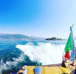 Lago Maggiore boat cruise , Fiona B - August 2016