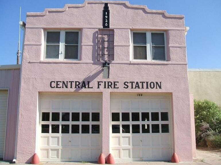 Marfa Fire Station - Texas
