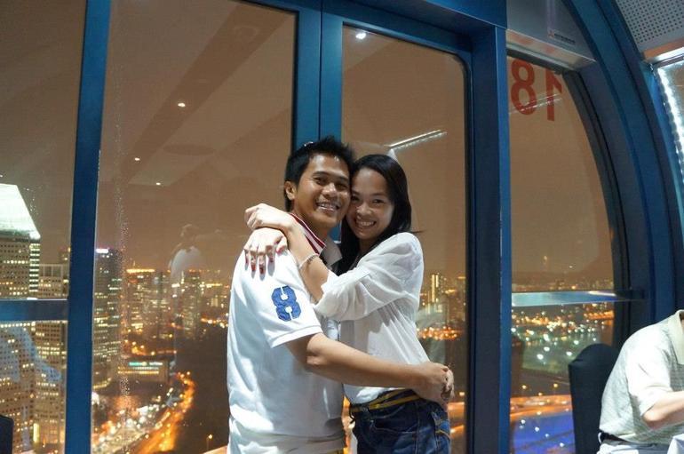 romantic moment - Singapore