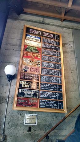 Brew menu, Viator Insider - June 2014